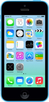 Apple iPhone 5C Blue, with 16 GB available at Flipkart for Rs.39399