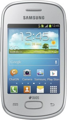Samsung Galaxy Star S5282 Silver available at Flipkart for Rs.3990