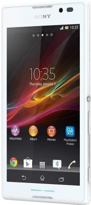Sony Xperia C (White) for Rs. 15699 at Flipkart. com with Free 6 months accidental damage protection from Sony, Xperia C at EMI Rs. 762