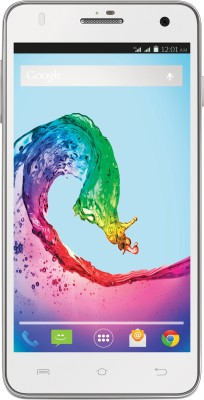 Lava iris X5 With Flip Cover (White, 8 GB)