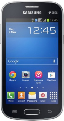 Samsung Galaxy Star Pro S7262 Midnight Black, 4  GB available at Flipkart for Rs.4369