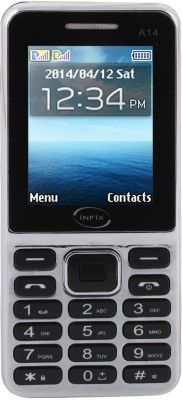 Infix A-14 Dual Sim Multimedia 2.4 Inches (Grey)