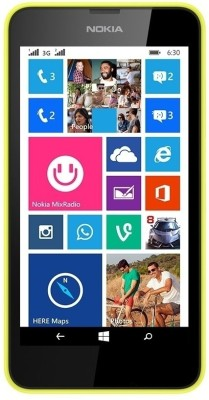 Nokia Lumia 630 (Bright Yellow, 8 GB)