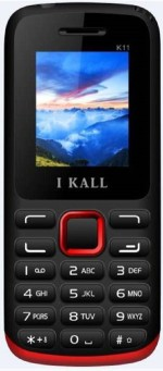 i KALL Dual Sim 1.8 Inch Feature phone with bluetooth red