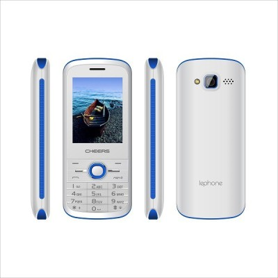 Cheers 4sim Sleek7 (Four Sim Mobile Phone) (White+Blue)