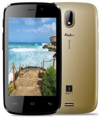 iBall Andi 4F Arc3 (Metallic Silver, 8 GB)