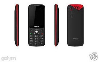 Intex Intex Ultra-3000 mAH Battery Black-Red ITorchIAuto-Call-Recorder (BLACK+RED)