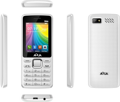 Aqua Shine - Dual SIM Basic Mobile Phone (Black)