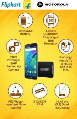 Moto X Style (Black, 16 GB)