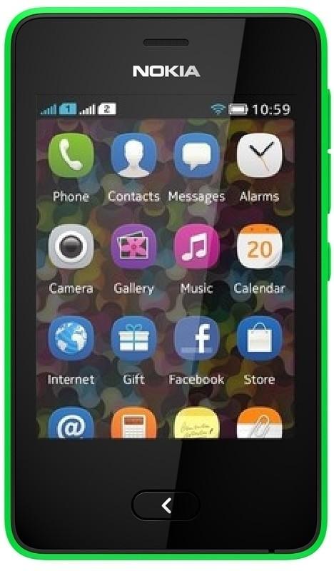 Nokia Asha 501 Bright Green