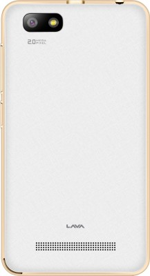 Lava Flair P3 (White, 8 GB)