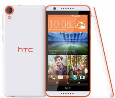 HTC Desire 820S (White&Orange, 16 GB)
