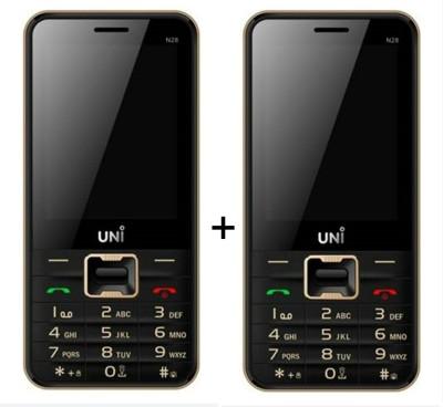 UNI N-28 Set of 2 (Black & Golden)
