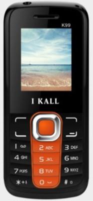 I KALL K-99 Dual SIM Multimedia Mobile (Black & Orange)