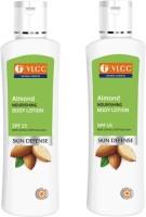 VLCC Almond Nourishing Body Lotion SPF 15 Pack Of 2 (400 Ml)