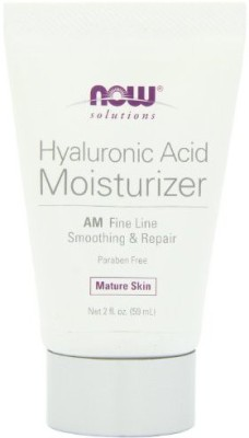 Now Foods Moisturizers and Creams Now Foods NOW solutions Hyaluronic Acid Moisturizer AM Fine Line Smoothing & Repair Mature Skin Net fl.