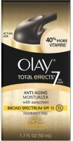 Olay Total Effects 7 In 1 Broad Spectrum SPF 15 Fragrance Free Anti-Aging Moisturizer With Sunscreen (50 Ml)