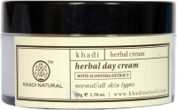 Khadi Herbal Day Cream With Aloevera Extract (50 G)