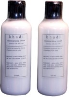 Khadi Moisturizing Cream- Jasmine & Aloe Vera (Pack Of 2) (420 Ml)