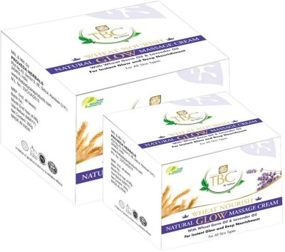 TBC By Nature Moisturizers and Creams TBC By Nature Wheat Nourish Natural Glow Massage Cream
