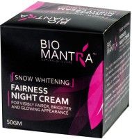 BioMantra Snow Whitening Night Cream (50 G)