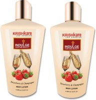 Krishkare Strawberry And Champagne Body Lotion (500 Ml)