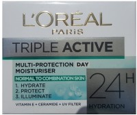 L'oreal Paris Triple Active Multi Protection Day Moisturiser (50 Ml)