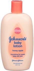 Johnson Baby Johnson Baby Honey Apple Lotion - 15 oz