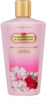Victoria's Secret Strawberries & Champagne Hydrating Body Lotion (250 Ml)