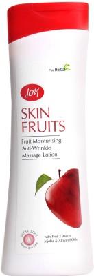 Joy Moisturizers and Creams Joy Skin Fruits Fruit Moisturising Anti wrinkle Massage Lotion
