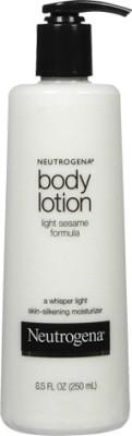 Neutrogena Moisturizers and Creams Neutrogena Body Lotion, Light Sesame Formula