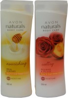 Avon Naturals Body Care Nourishing & Suttury Hand & Body Lotion (Set Of 2 ) (400 Ml)