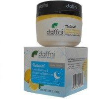 Daffni Natural Lemon Whitening & Moisturizing Night Cream (50 G)