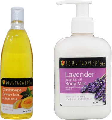 Soulflower Moisturizers and Creams Soulflower Lavender Body Milk with Offer