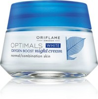 Oriflame Sweden Optimals White Oxygen Boost Night Cream Normal Combination Skin (50 Ml)