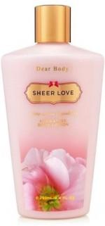 Dear Body Moisturizers and Creams Dear Body SHEER LOVE LOTION