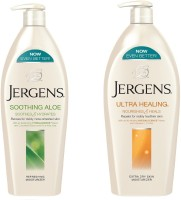 Jergens Soothing Aloe And Ultra Healing Moisturizers Body Lotion (800 Ml)