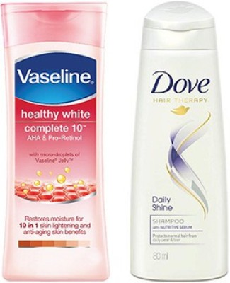 Vaseline Healthy White Complete Body Lotion (300 Ml)