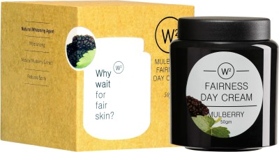 W2 Body and Skin Care W2 Mulberry Fairness Day Cream with Sun Protection