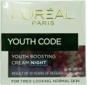 Loreal Paris Youth Code Youth Boosting Cream Night - 50 Ml