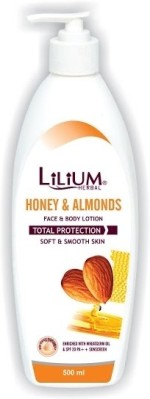 LiLium Moisturizers and Creams LiLium Honey Almond Moisturiser