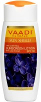 VAADI HERBALS Sunscreen Lotion With Lilac Extract - Spf 30 Pack Of 3 (110 Ml)