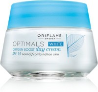 Oriflame Sweden Optimals White Oxygen Boost Day Cream SPF 15 Normal Combination Skin (50 Ml)