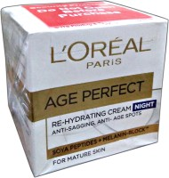 Loreal Paris Age Perfect Re-Hydrating Night Cream (50 Ml)