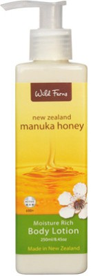 Wild Ferns Moisturizers and Creams Wild Ferns Manuka Honey Moisture Rich Body Lotion