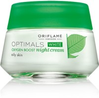 Oriflame Sweden Optimals White Oxygen Boost Night Cream Oily Skin (50 Ml)