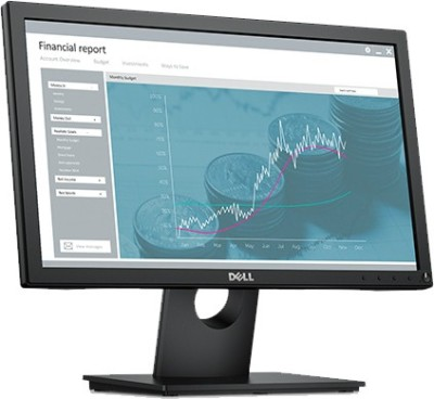 Dell 18.5 inch LED - E1916H  Monitor (Black)