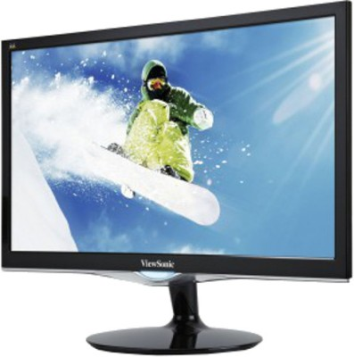 ViewSonic 23.6 inch LED Backlit LCD - VX2452mh  Monitor (Black)