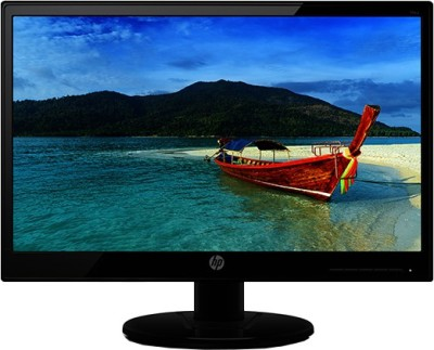 HP 18.5 inch LED Backlit - 19KA  Monitor (Black)