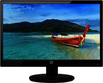 HP 18.5 inch LED Backlit - 19KA  Monitor (Black)